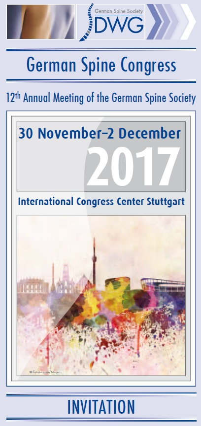german spine congress 2017